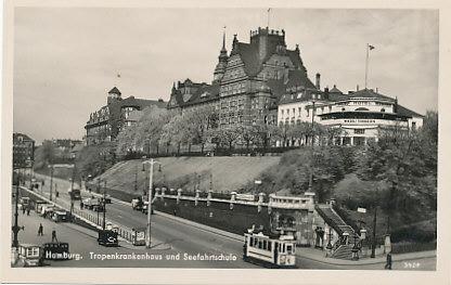 ansichtskarte vor 1945 deutsches reich hamburg