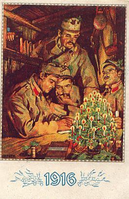 1917 sterreich ungarn patriotische karte weihnachten. Black Bedroom Furniture Sets. Home Design Ideas