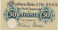 Deutsches Reich, Provinz Sachsen, 50 Pfennig Langensalza,