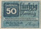 Deutsches Reich, Sachsen, 50 Pfennig Annaberg Stadt, Klöpplerin,