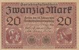 Deutsches Reich, Kaiserreich, 20 Mark Ro.55 Serie:M,