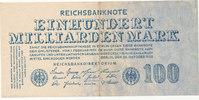 Deutsches Reich,Weimarer Republik, 100 Milliarden Mark Ro.123