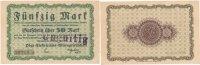 Deutsches Reich, Sachsen 50 Mark 26.Oktober Chemnitz, Pöge Elektricitäts A.G.