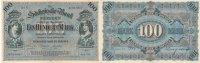 Deutsches Reich, Sachsen, 100 Mark Dresden, Sächsische Bank, Serie VII,