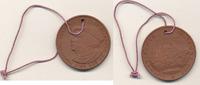 Deutschland,DDR, Medaille Lutherischer Weltbund, Luther, Böttger-Steinzeug, Porzellan Manufaktur Meissen,