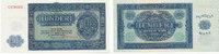 Deutschland,DDR, 100 Mark Ro.346F1, Druckfehler Null am Rand mit Querbalken,(180),