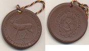 Deutschland,DDR, Medaille Böttgersteinzeug, Jagd, Trophäenschau Dresden,