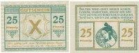 Deutsches Reich,Nordrhein-Westfalen 25 Pfennig 15.-18.Oktober Castrop
