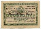 Sachsen 1 Mio. Mark 14.August Oederan