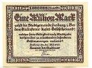 Baden 1 Mio.Mark 25.8. Freiburg, Stadt