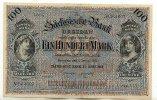 Sachsen 100 Mark 2.Januar Sächsische Bank zu Dresden