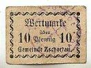 Sachsen 10 Pfennig Zschorlau, Gemeinde