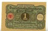 Deutsches Reich 1 Mark 1.März Ro.64, Druck verschoben