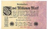 Deutsches Reich 2 Mio.Mark 9.August Ro.102c, FZ C