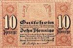 Sachsen 10 Pfennige 19.April Chemnitz, Amtshauptmannschaft