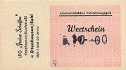Deutschland 10 auf 50 Mark DDR LPG Geld