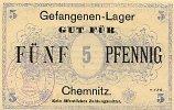 Sachsen 5 Pfennig Chemnitz, Gefangenenlager