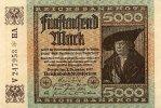 Deutsches Reich 5000 Mark 2.Dezember Ro.80a, FZ HA