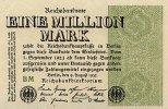 Deutsches Reich 1 Mio.Mark 9.August Ro.101d