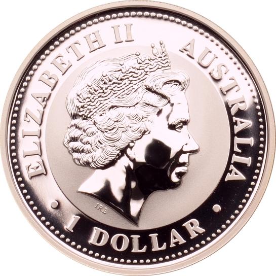 1 Dollar 2006 Australien Japanisches Jahr in Australien st, Farbdruck