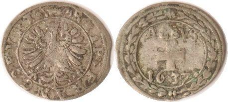 1 Albus 1637 Frankfurt Stadt s/ss