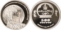 Mongolei 500 Tögrög Mongolei, 500 Tögrög, Mongolischer Wolf, 2003, PP