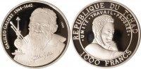 Tschad 1000 Francs Tschad, 1000 Francs, Galileo Galilei, 19999, PP