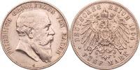Kaiserreich - Baden 5 Mark Friedrich I.