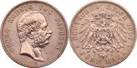 Kaiserreich - Sachsen 5 Mark Georg