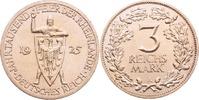 Weimar 3 Reichsmark Rheinlande