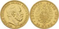 Kaiserreich - Preussen 20 Mark Wilhelm I.