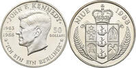 Niue 50 Dollars Niue, 50 Dollars, John F. Kennedy, 1988, PP