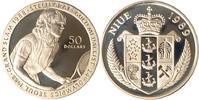 Niue 50 Dollars Niue, 50 Dollars, Steffi Graf, 1989, PP