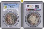 PCGS certified 5 Mark 1888  A Preußen Frie...