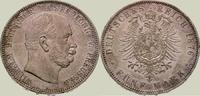 Preußen 5 Mark Wilhelm I. 1861-1888.