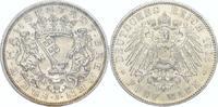 Bremen  5 Mark 1906  J Vorzüglich - Stempelglanz
