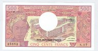 REP.UNIE du CAMEROUN 500 FRANCS N.17