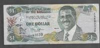 BAHAMAS 1 DOLLAR Série CG