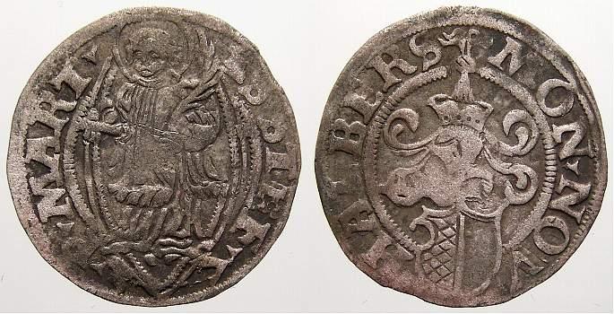 Körtling 1 1537 Halberstadt, Domkapitel Sehr schön