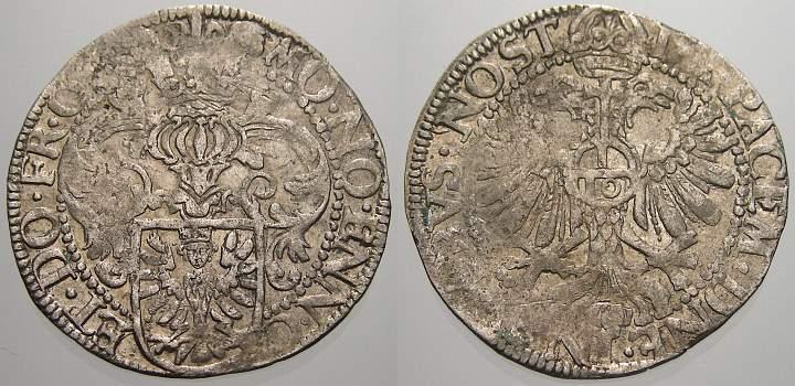5 Stüber 1599-1625 Ostfriesland Enno III. 1599-1625. Kl. Prägeschwäche, sehr schön+ mit Prägeglanz