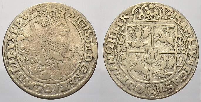 Ort 1622 Polen Sigismund III. 1587-1632. Sehr schön