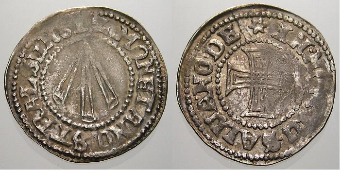 Kreuzgroschen 1612 Pommern-Stralsund, Stadt Stadt 1510-2100. Kl. Prägeschwäche, fast vorzüglich mit schöner Patina!