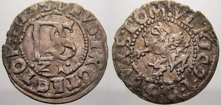 Doppelschilling 1621 Pommern-Cammin, Bistum (Kamien Pomorski) Ulrich 1618-1622. Kl. Prägeschwäche. Sehr schön+