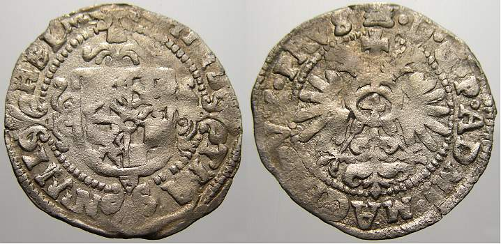 1598-1631 Magdeburg, Erzbistum Christian Wilhelm von Brandenburg 1598-1631. Übl. kleine Prägeschwäche, sehr schön