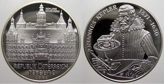 10 Euro 2002 Österreich Republik Österreich seit 1945. Polierte Platte