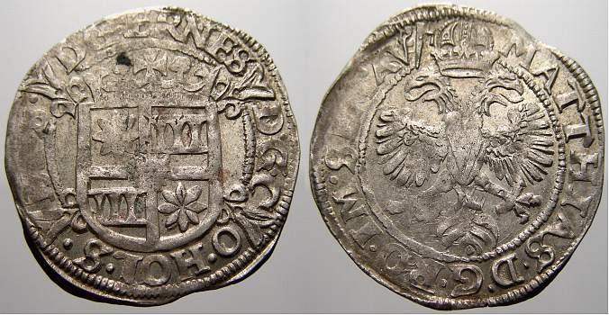 1601-1622 Schauenburg und Holstein Ernst III. 1601-1622. Kl. Prägeschwäche. Sehr schön-vorzüglich mit Prägeglanz!