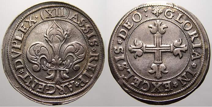 12 Kreuzer 1600-1700 Frankreich-Straßburg, Stadt Stadt 1600-1700. Fast vorzüglich