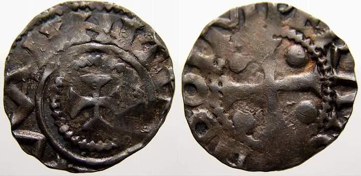 Denar 983-1002 Dortmund, Stadt Otto III. 983-1002. Sehr schön+ mit schöner Patina
