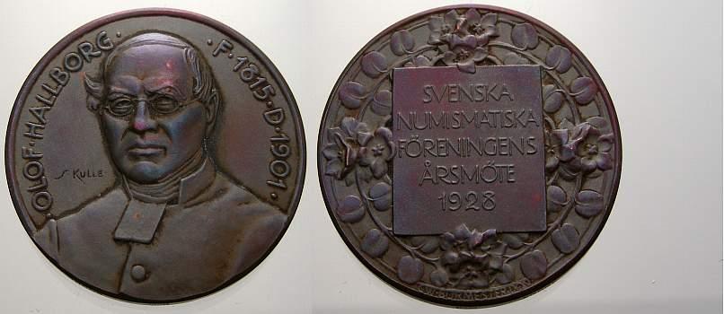 Bronzemedaille 1928 Personenmedaillen Sonstige Vorzüglich