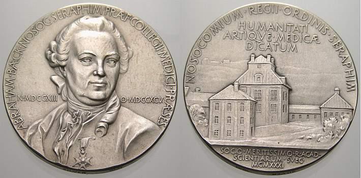 Silbermedaille 1931 Personenmedaillen Sonstige Vorzüglich+